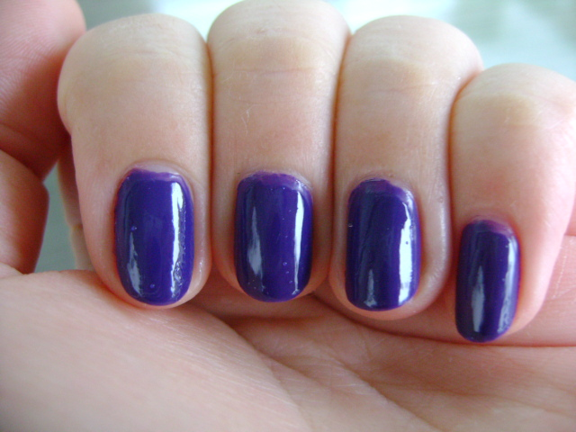 Smart And Sarcastic With Dashes Of Insanity Review Of Sephora Color Hit Nail Polish In Voodoo Doll