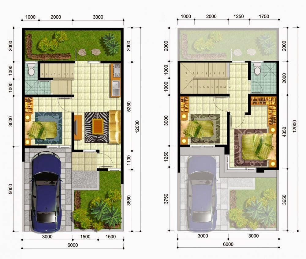 6x12 Desain Rumah Minimalis