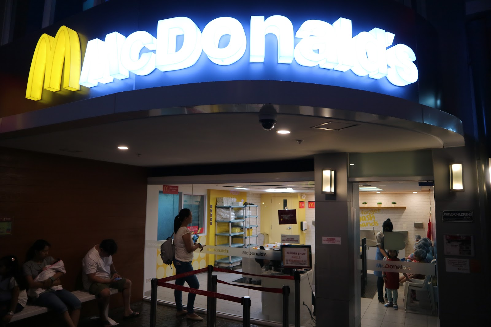McDonald's in KidZania Manila