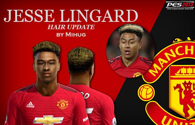 PES 2013 Jessé Lingard Yellow Hair 2019