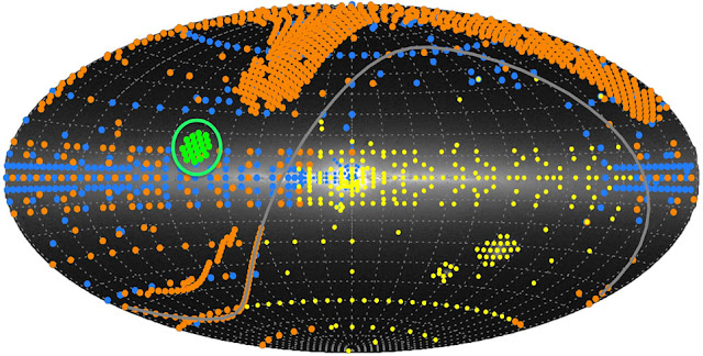 Study maps Milky Way space dust in 3-D