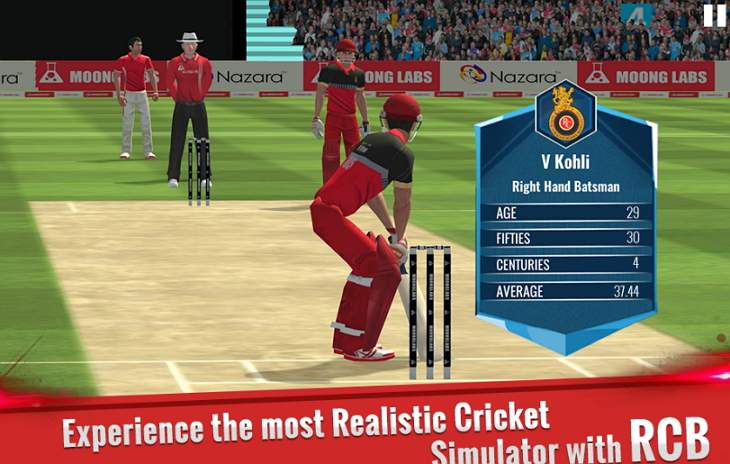 RCB Cricket Game Android