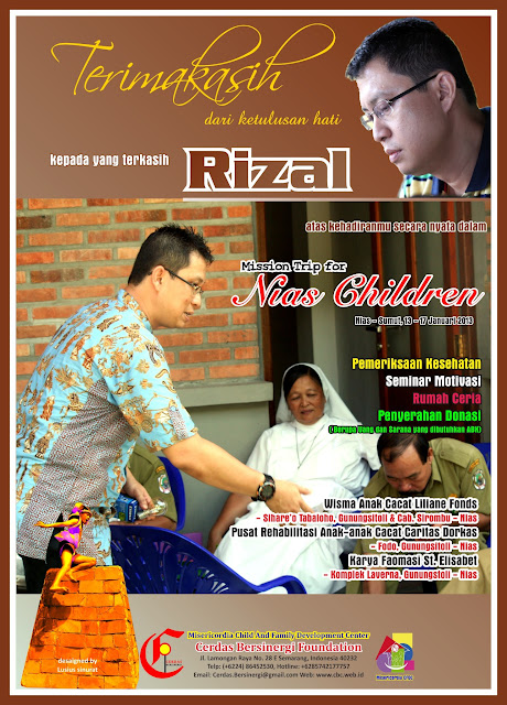 Mission Trip for Nias Children 2013