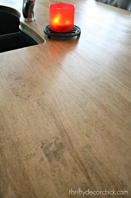 Getting a perfect finish on wood countertop