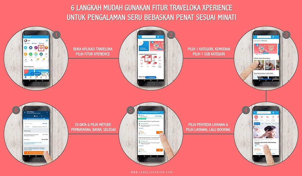Mudahnya Pakai Aplikasi Traveloka Xperience Untuk Bebaskan Penat Sesuai Minat Pengalaman #XperienceSeru