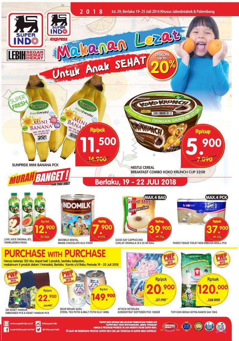Superindo - Katalog Promo Periode 19 - 25 Juli 2018