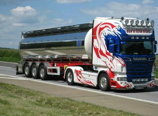 modifikasi truk tronton scania