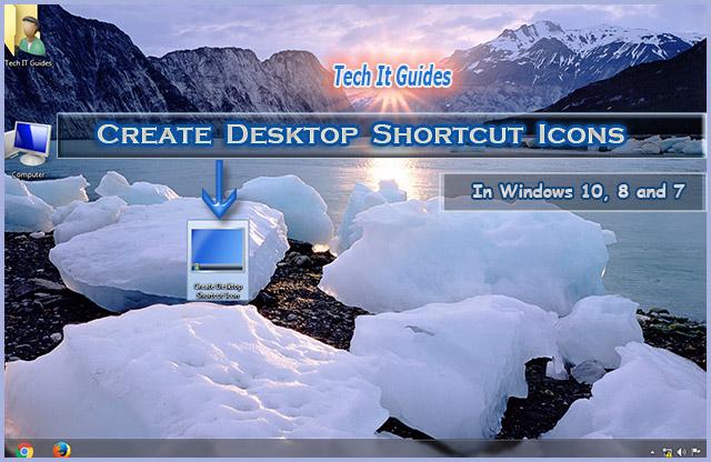 Create-Windows-Desktop-Shortcut-For-Any-Program-File-Folder
