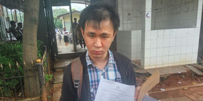 Andrew Budikusuma, korban pengeroyokan di bus transjakarta