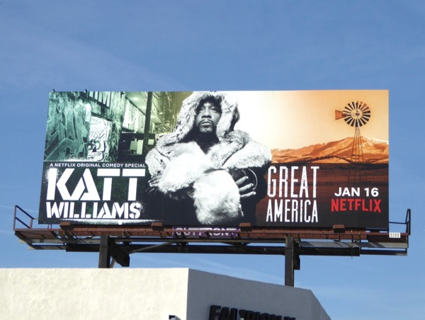 Katt Williams Great America billboard