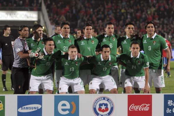 Formación de Bolivia ante Chile, Clasificatorias Brasil 2014, 11 de junio de 2013