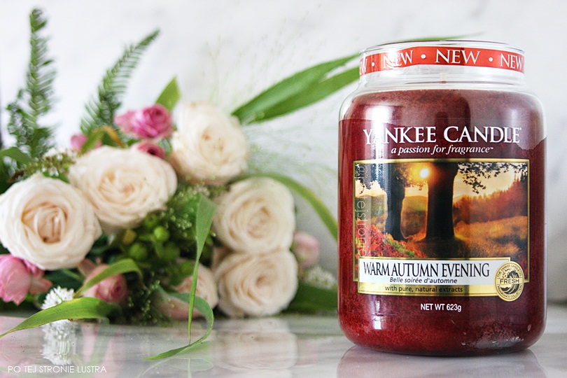 świeca yankee candle warm autumn evening