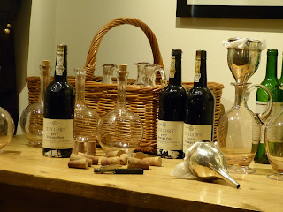 The wine cellar display in a Royal Welcome  2015 exhibition at Buckingham Palace  Photo © Andrew Knowles