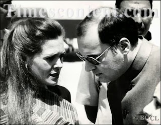 Italian bar Girl Sonia Gandhi