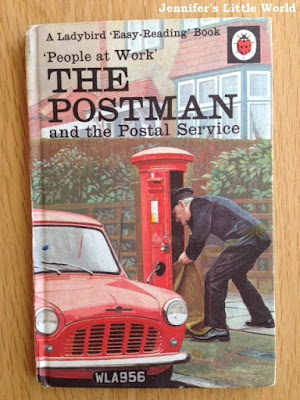 Ladybird People at Work - The Postman