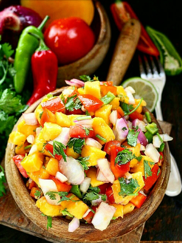 Fresh and Healthy Mango Salsa Recipe