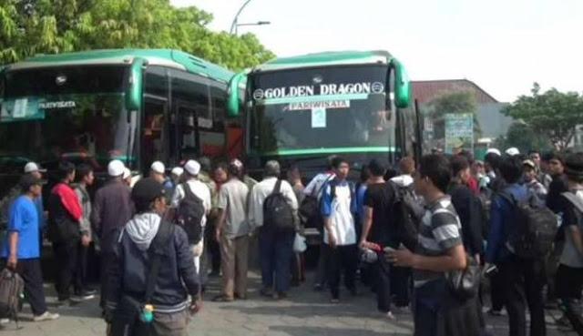 Beredar Surat Larangan Angkut Massa Aksi Ke Jakarta Tanggal 2 Desember, Begini Isinya