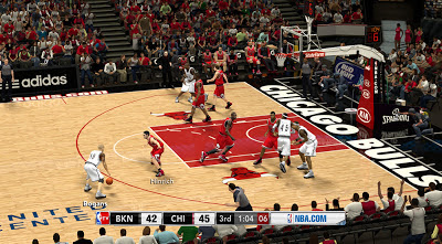 NBA TV Scoreboard Mod for NBA 2K13 PC