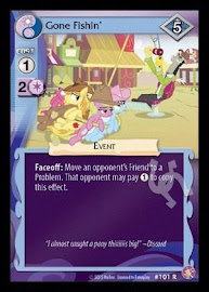 My Little Pony Gone Fishin' Absolute Discord CCG Card