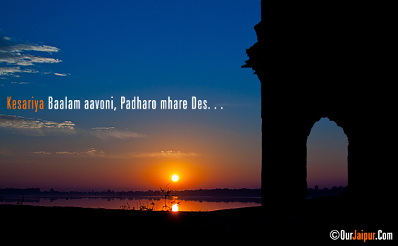Kesariya Balam Aawoni. . .