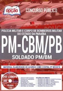 Concurso PM-CBM PB 2018