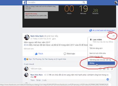 Hướng dẫn nhúng video facebook tự động play vào website
