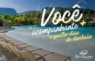 Cadastrar Promoção Rádio Antena 1 2018 Rio Quente Resorts