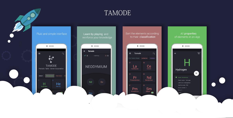 Tabla peridica tamode seven corporation estudia juega y aprende con tamode una tabla peridica interactiva con un diseo sencillo urtaz Choice Image