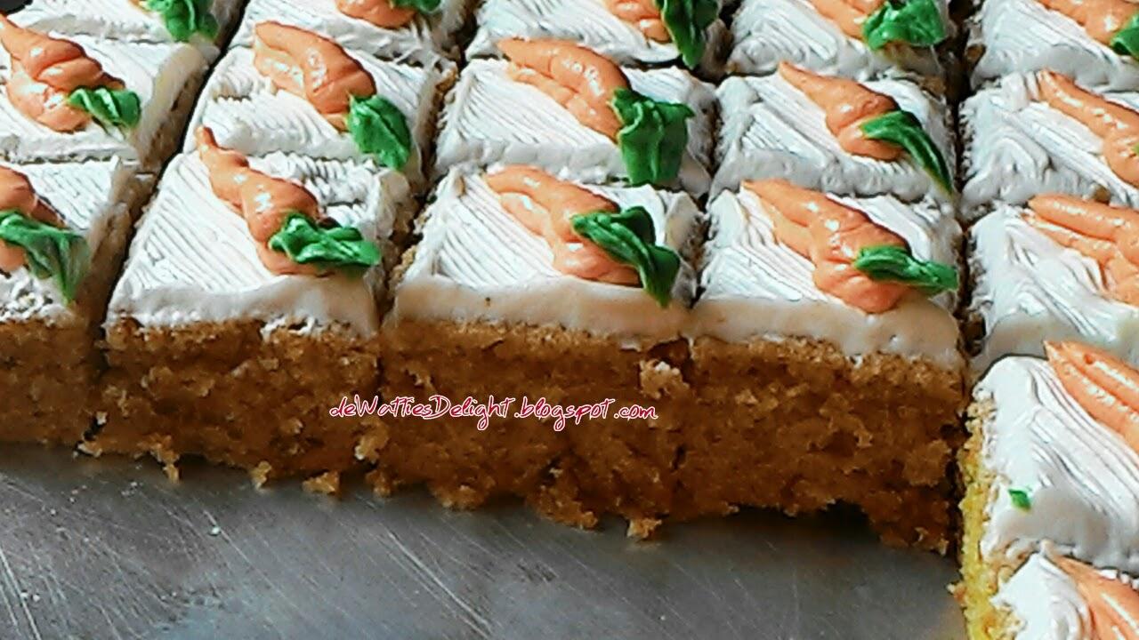 Wattie's HomeMade: Carrot Cake Bars With Cream Cheese ...