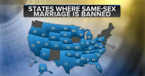 Percentage of married gay and bisexuals in u.s