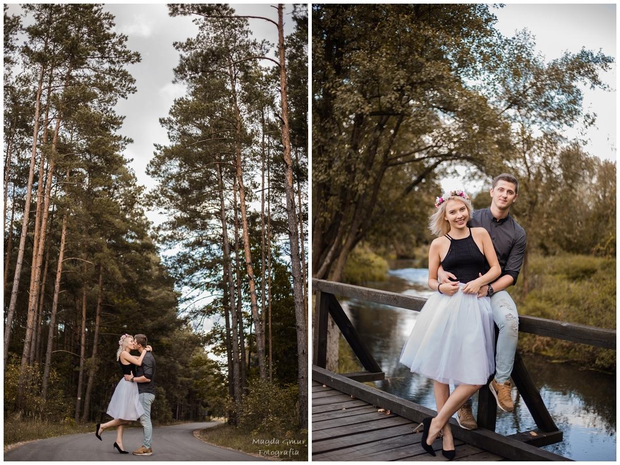 sesja zakochanych, zdjecia pary, plener, sesja narzeczenska, fotograf opoczno, najlepszy fotograf w opocznie, fotograf slubny opoczno, lublin, sesja w lesie, sesja na moscie, zakochani, magda gmur foto