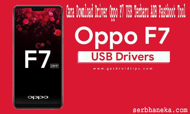 Cara Download Driver Oppo F7 USB Terbaru ADB Fastboot Tool