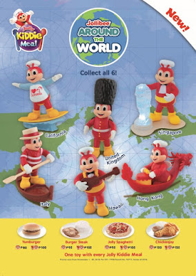 A world of joy awaits kids with Jollibee Around the World Jolly Kiddie Meal toys