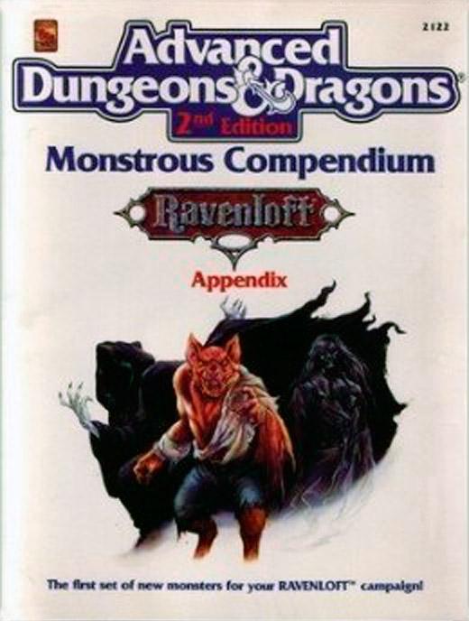 En los Gorgoten: Monstrous Compendium. Ravenloft Appendix