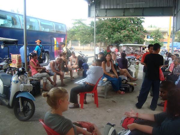 Estacion de Autobuses de Phnom Penh - Camboya