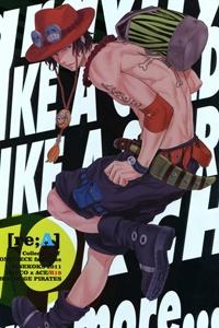 One Piece Doujinshi - Namima Ni Utsutsu
