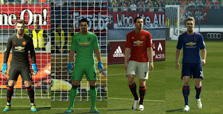 Manchester United Kits 2016-2017 Pes 2013 By Strex
