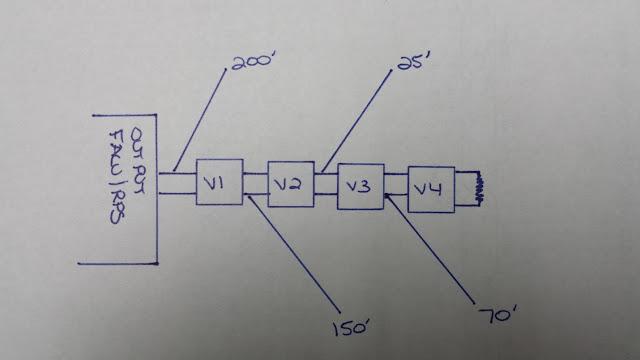 End of Line Voltage Drop Fire Alarm