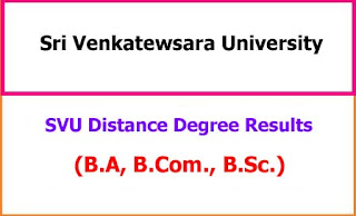 SVU Distance Degree Results