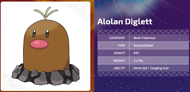 Alolan Diglett steel whiskers