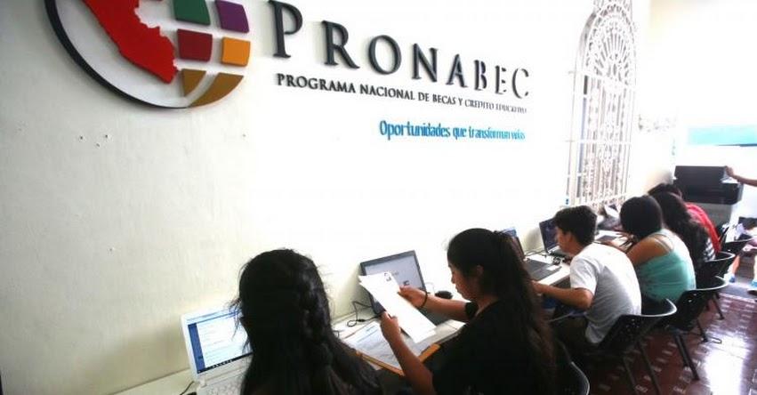 PRONABEC: Trabajadores con contrato del sector público o privado pueden acceder a crédito educativo sin garante - www.pronabec.gob.pe