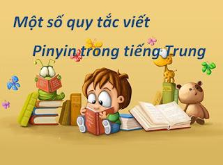 pinyin trong tieng trung