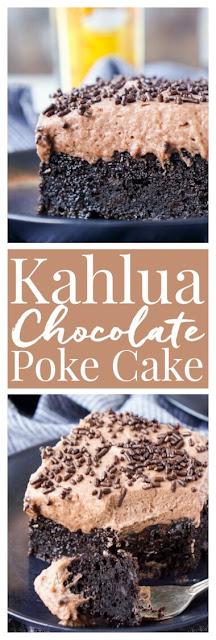 Kahlua Chocolate Poke Cake Recipe