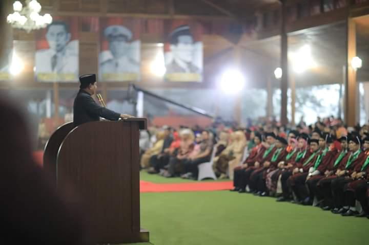 Warisan Jariyah Prabowo Sebelum Dipanggil Allah SWT