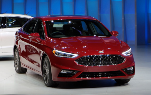 2019 Ford Fusion Front