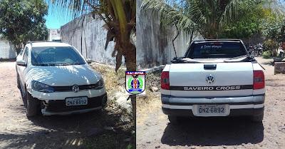 Carro clonado é apreendido pela PM de Chapadinha