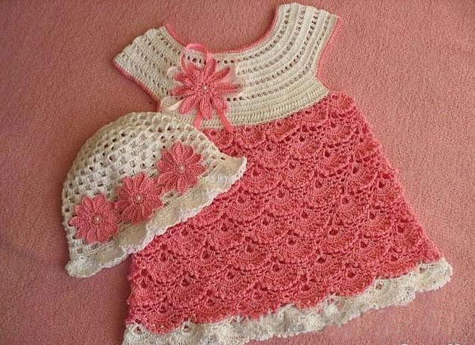 Crochet Patterns For Sale Crochet Baby Dress 3