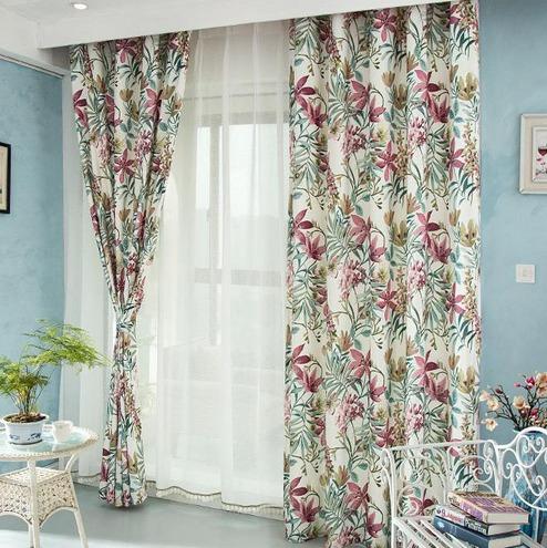 a mi me encanta decorar la casa con cortinas vaporosas blancas y de flores son mis opciones favoritas - Cortinas Decoracion