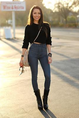 celana model High-waist-untuk- wanita pendek