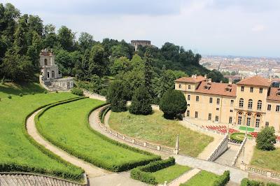 Villa della Regina e vista su Torino